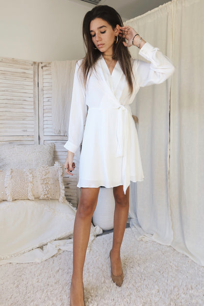 WICKED GAMES DRESS - WHITE