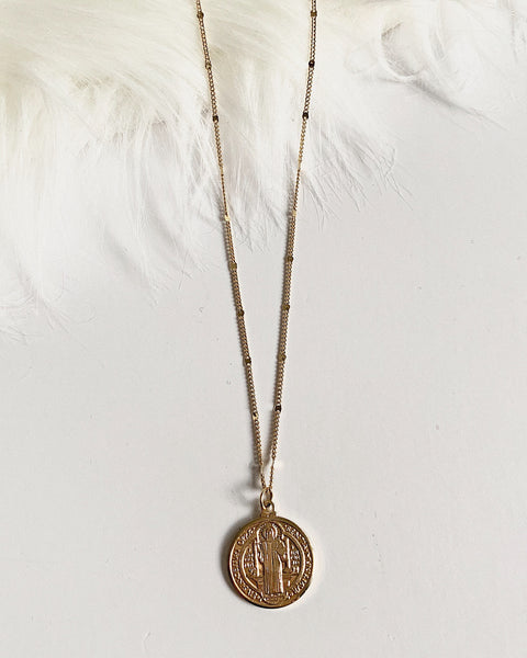 PADRE COIN NECKLACE