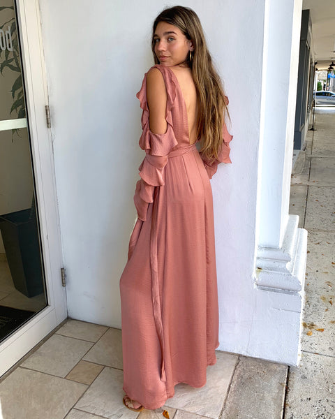 ENCHANTED GARDEN MAXI DRESS