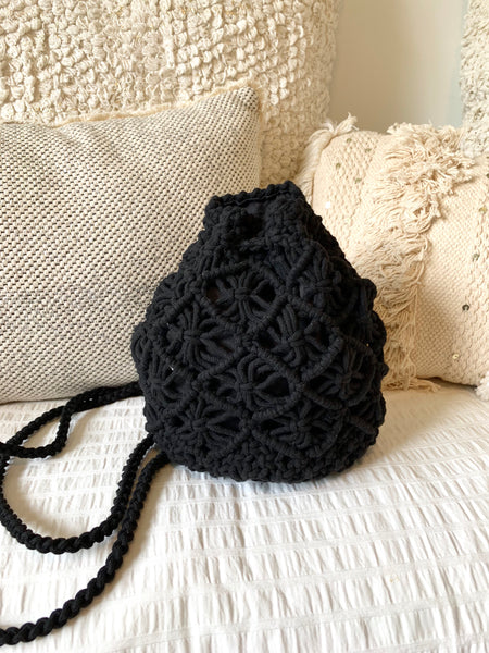 BALI MACRAME MINI BACKPACK