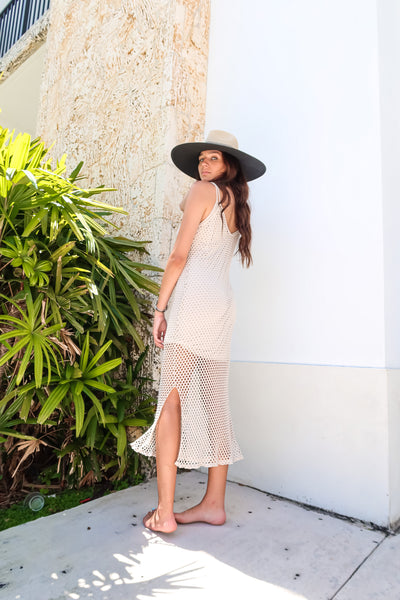 BALI KNIT MIDI DRESS