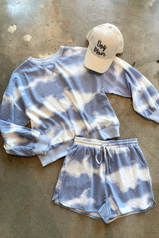 DREAMER SHORT SET - CLOUD BLUE
