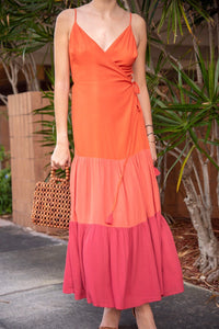 MAROCCO WRAP DRESS