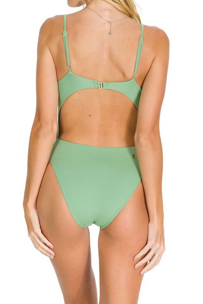 COCOA BEACH ONE PIECE - SEA GREEN