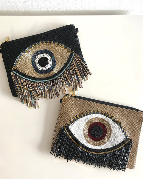 ALL EYES ON ME CLUTCH