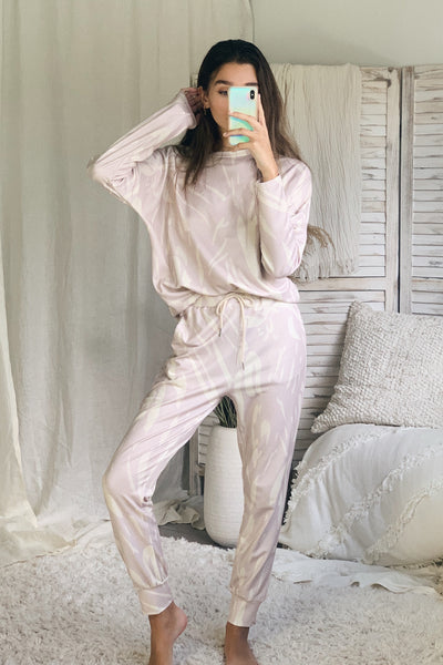 COFFEE RUN PANT SET