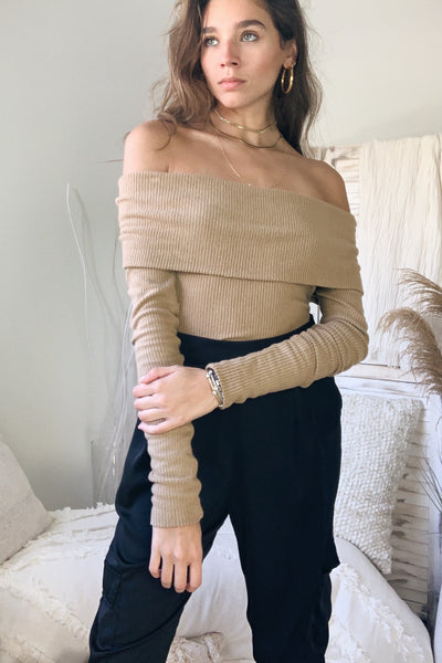 JUST FOR YOU KNIT TOP