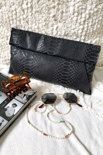ELLA CLUTCH - BLACK