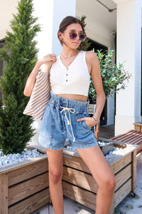 PASSERBY DENIM SHORTS