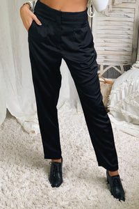 DAY TO NIGHT TROUSER - BLACK