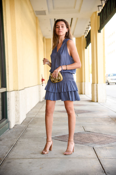 INDIAN BLUE DRESS