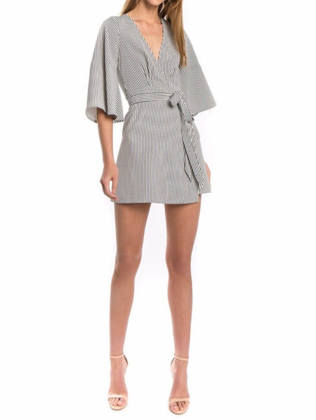 EXPEDITION WRAP DRESS
