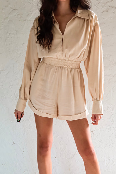COFFEE DATE ROMPER