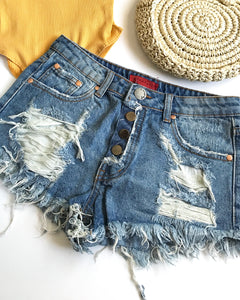 MAIZEY DENIM SHORT