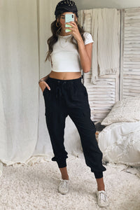 SWEETEST THING PANT - BLACK