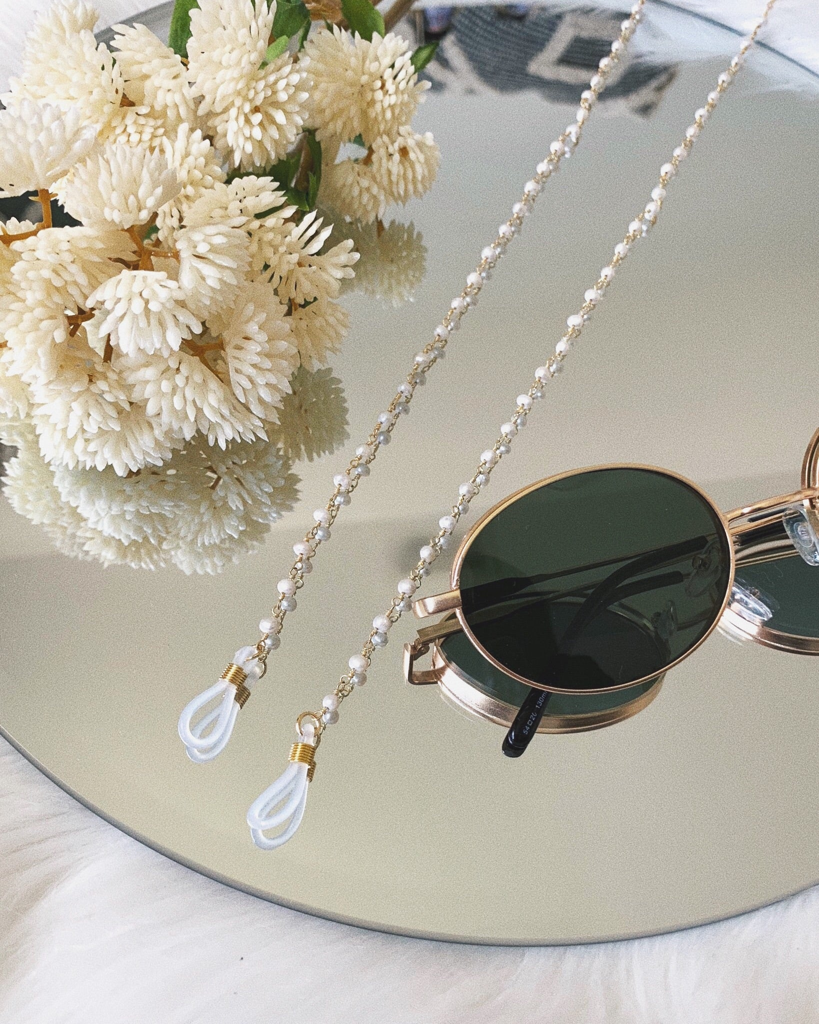 FRESH WATER PEARL SUNGLASS STRAP