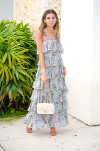 FALLON TIERED MAXI DRESS