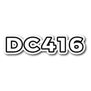 "DC416 Sticker (3""x4"")"
