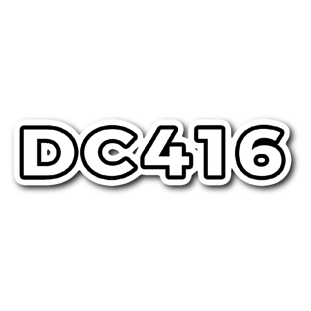 DC416 Sticker (3