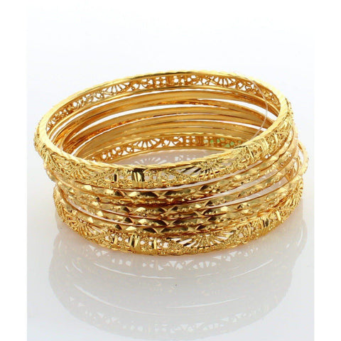 Plain Stack Bangle-Indian Jewelry-indian bracelets-indian bangles online-One Mela