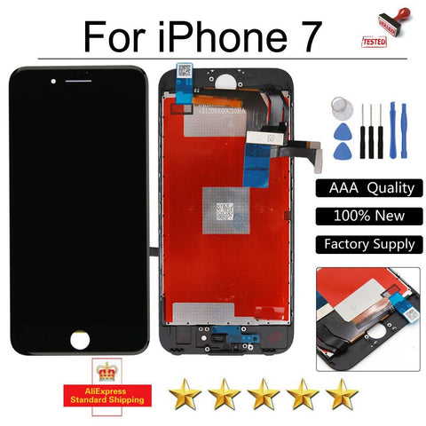 Good Quality LCD For iPhone 7 Display for iPhone7 Touch Screen lcd Digitizer Replacement Assembly No Dead Pixel + Tools