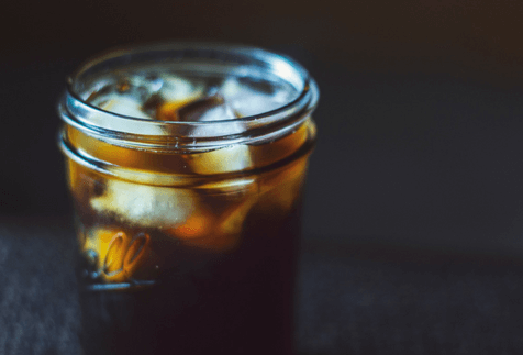 Java Love Cold Brew Blend In Ice And Glass