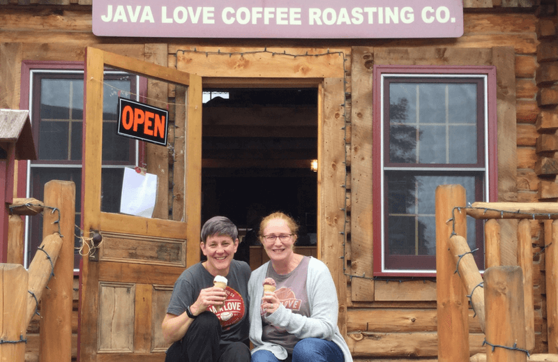 Roscoe Java Love Coffee Shop Location