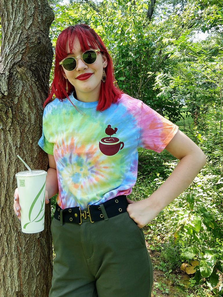 Java Love Tie Dye T-Shirts