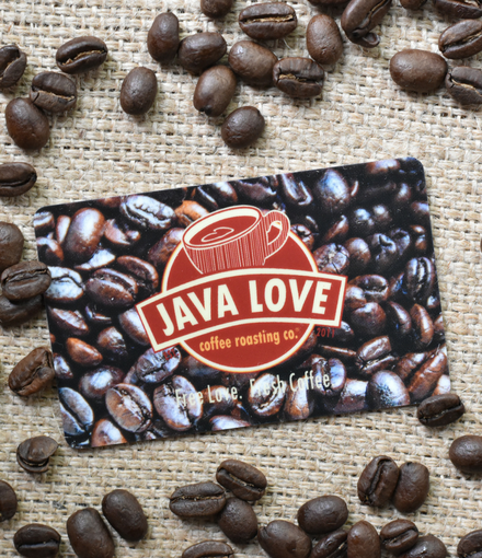 Java Love In-Store Gift Card
