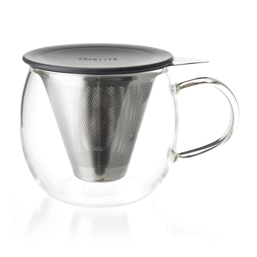 Brew-In-Cup with Infuser and Lid