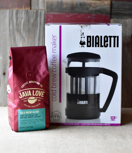 Bialetti Cold Brew Coffee Maker & Cold Brew Blend Gift