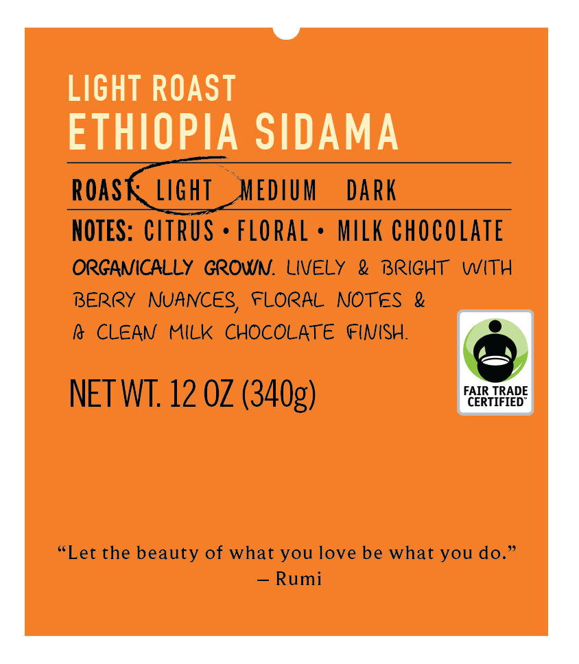 Light Roast Ethiopia Sidama