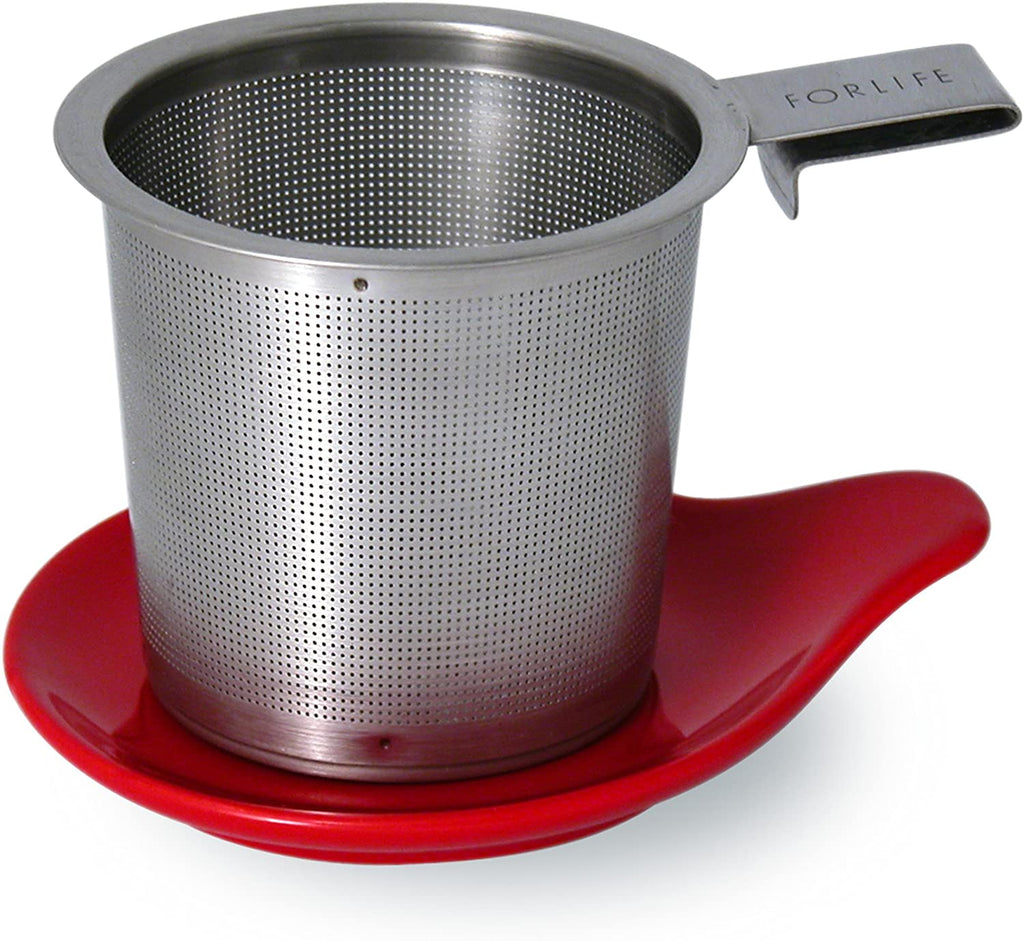 Tea Infuser and Dish Set