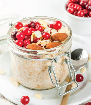 Vegan & Gluten Free Overnight Oats