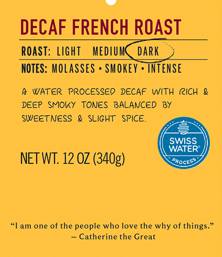 Decaf French Roast  10.00% Off Auto renew