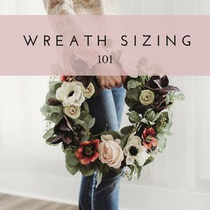 Wreath Sizing 101