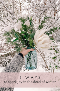 5 Ways to Spark Joy in the Dead of Winter