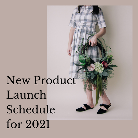 New Product Launch Schedule for 2021