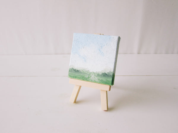Original Little Landscape Oil Painting 1