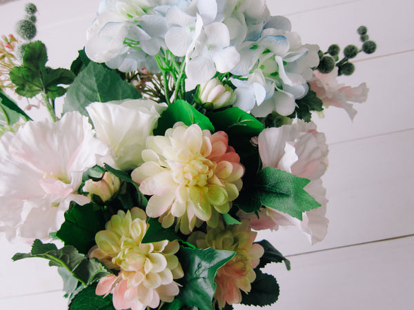 Flower Stems - Hydrangea and Dahlia Bundle