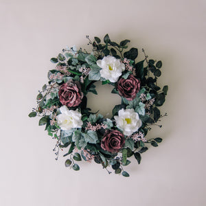 Moody Rose Wreath
