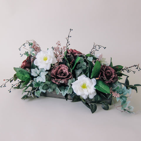 Moody Rose Floral Arrangement