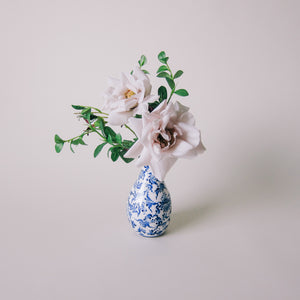 Blue + White Small Floral Arrangement