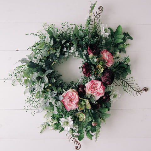 Mauve Dreams Wreath