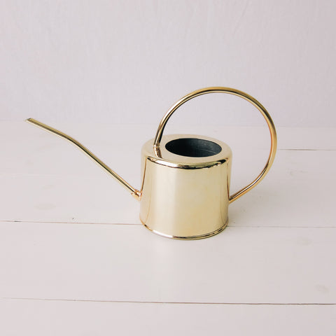 Gold Watering Can