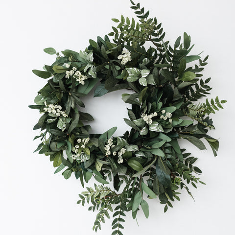 Everyday Greenery Wreath