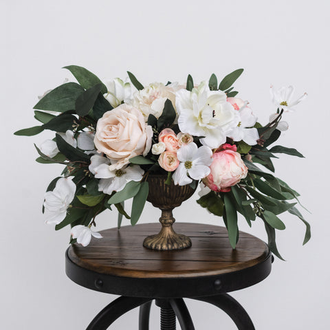 Blush Dogwood Floral Arrangement