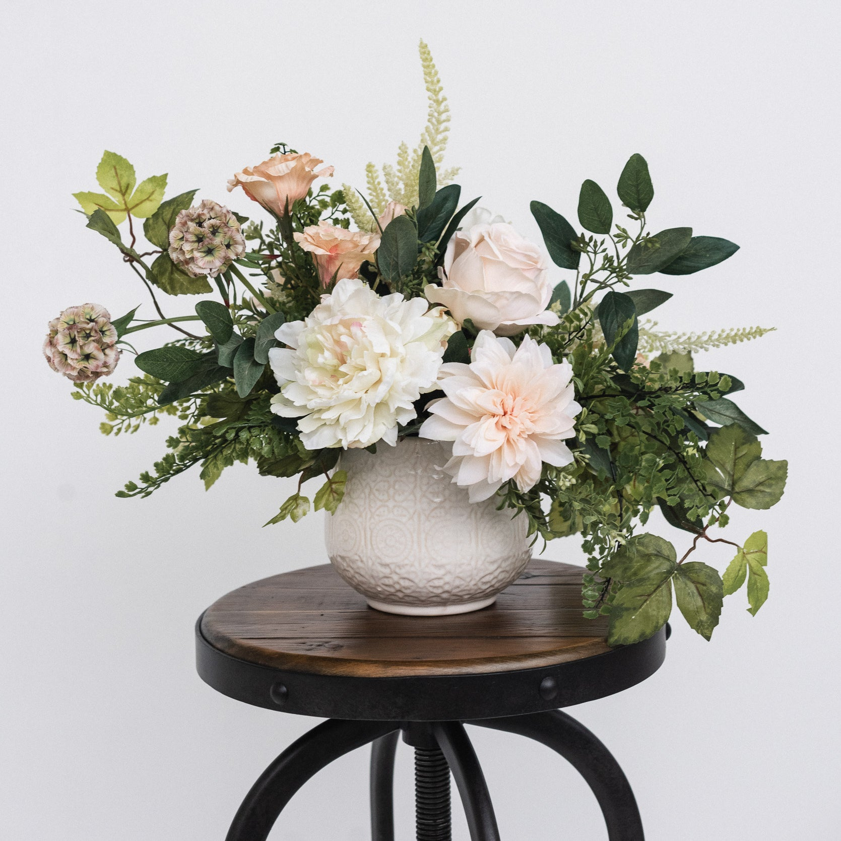 Blush Dahlia Floral Arrangement
