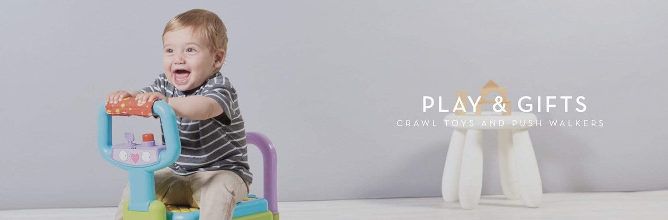 Crawl Toys and Push Walkers