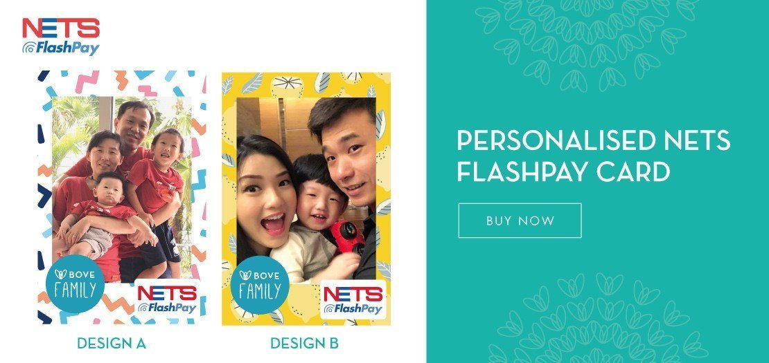 Create your own Nets Flashpay Card!